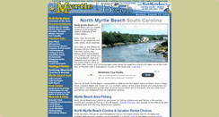 Preview of northmyrtlebeach.net