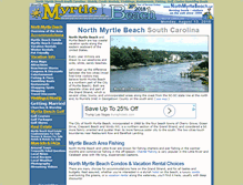 Tablet Preview of northmyrtlebeach.net